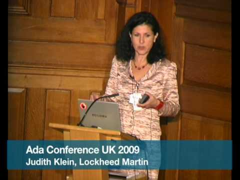 Pt.1 Ada Programming Language Use in Lockheed Martin (Judith Klein)