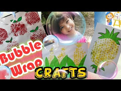 Painting with Bubble Wrap/Kids for YOU/ EASY NICEY PART 05