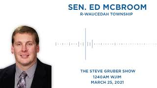 Sen. McBroom joins the Steve Gruber Show to discuss election reforms