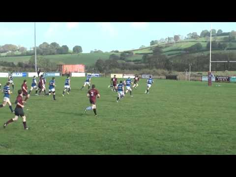 Full Back Try Enniskillen Rugby V Coleraine 11 10 14