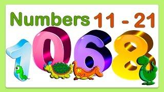 Числа на английском языке от 11 до 21