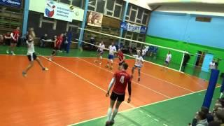 Экран-Академия (3:1), Чемпионат СПБ по волейболу, 22.04.2016