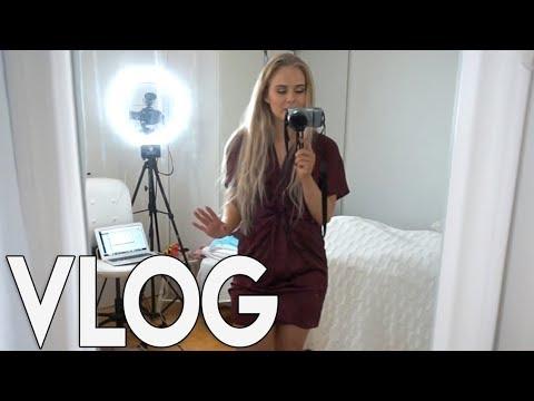 FILMING, MAT & SELVBRUNING 📷 VLOG