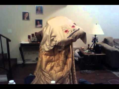 STAR WARS FAIL. The WORST Homemade Costume OF ALL TIME ... Jabba The Hutt Cosplay