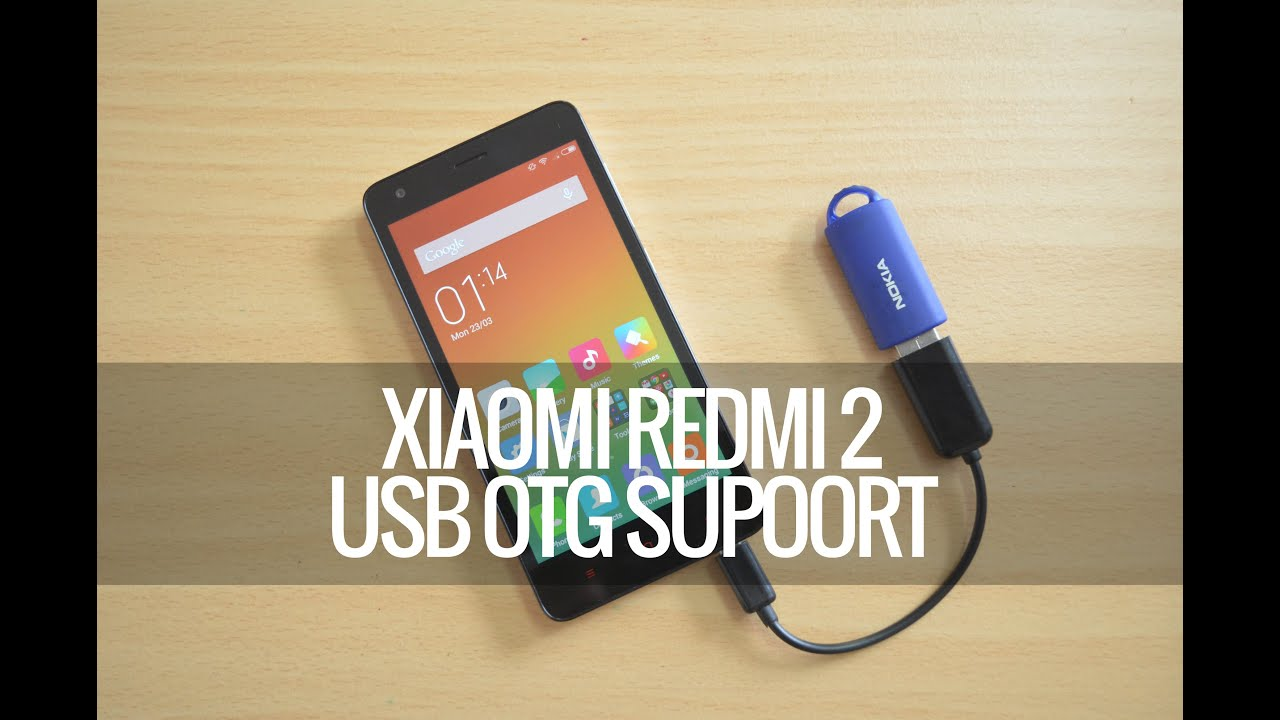usb otg support on xiaomi redmi 2 youtube. Black Bedroom Furniture Sets. Home Design Ideas