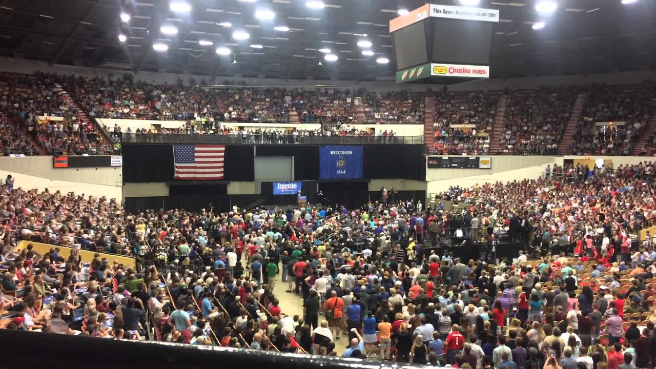 Bernie Sanders Rally At The Alliant Energy Center In Madison Wi 07012015
