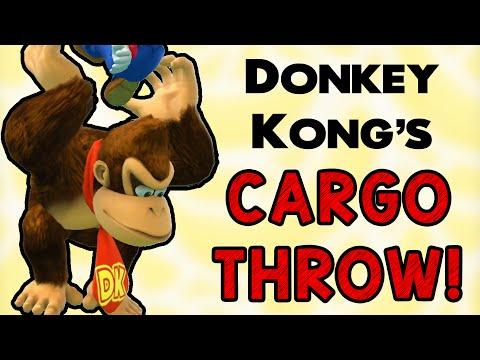 DK's Cargo Throw! (Smash Wii U/3DS)