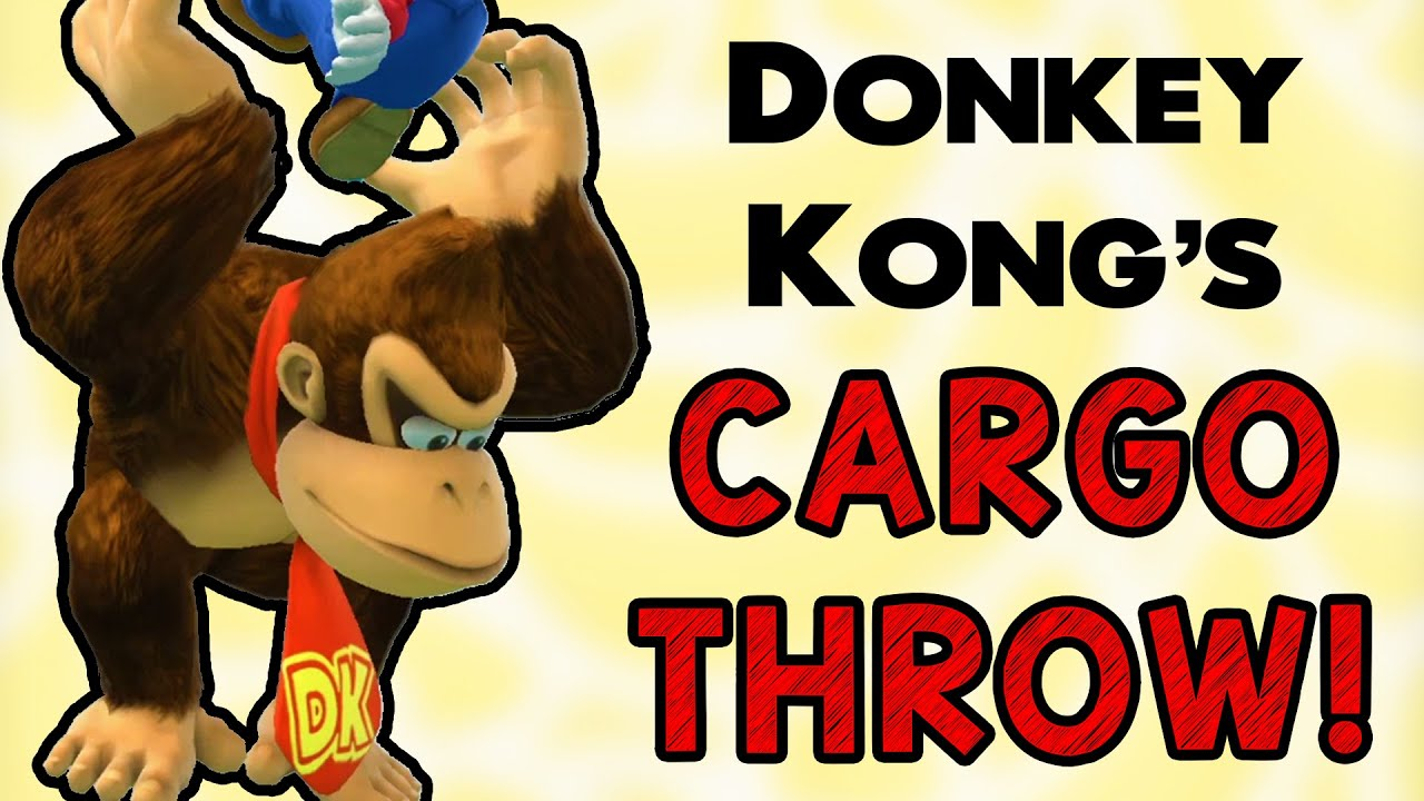 DK's Cargo Throw! (Smash Wii U/3DS)