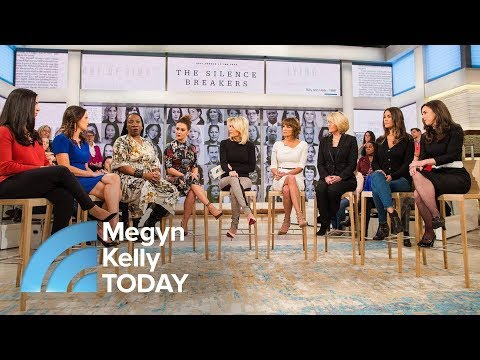 Silence Breakers: Women Affected By Sexual Misconduct Speak Out | Megyn Kelly TODAY