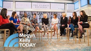 connectYoutube - Silence Breakers: Women Affected By Sexual Misconduct Speak Out | Megyn Kelly TODAY
