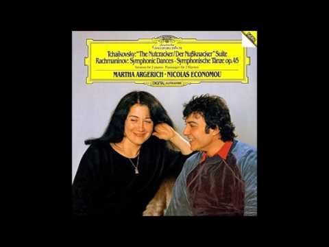 チャイコフスキー - バレエ組曲《くるみ割り人形》Op.71a ~2台のピアノのための~ アルゲリッチ エコノム