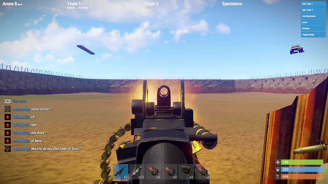 [Rust] Sting Operation #1 - Drew using scripts to nullify vertical recoil