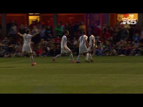 University of Washington Men's Soccer Team Good Goals vs Seattle University