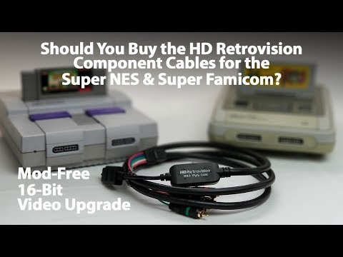 Should You Buy HD Retrovision Component Video Cables for the Super Nintendo and Super Famicom?