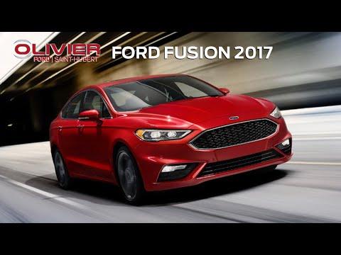 La gamme Fusion 2017 offre puissance, intelligence et style