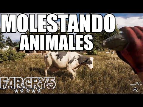 Molestando Animales En FARCRY 5