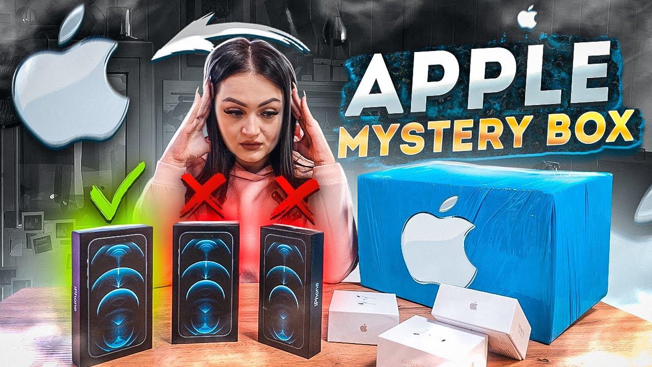 Купила MISTERY BOX с техникой APPLE на EBAY / НЕ КЛИКБЕЙТ! / iPhone 12 Pro / Apple AirPods Pro - скачать с YouTube бесплатно