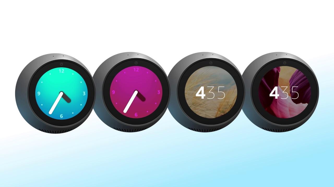 Amazon Echo Spot Clock Options Youtube