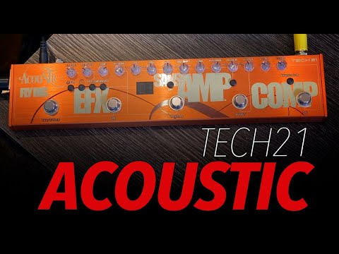 Tech 21 Acoustic Fly Rig (Review) Um Monstro!!!