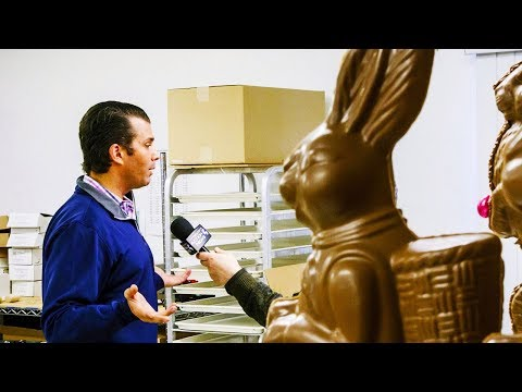 Donald Trump Jr. Interviewed By Chocolate Bunny