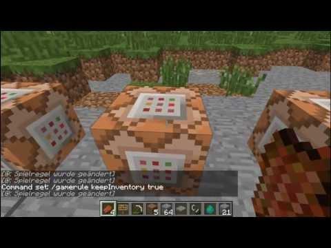MINECRAFT GAMERULES  ERKLÄRT - viele neue Funktionen in der Minecraft Welt [German / HD]