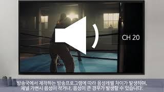 [삼성전자 TV] TV 안테나로 시청 중 TV 음성이 …