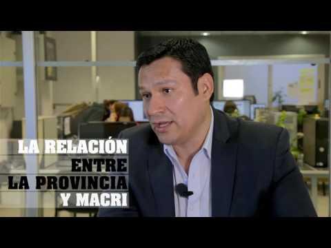 Osvaldo Llancafilo. Subsecretario de Asuntos Públicos de la provincia