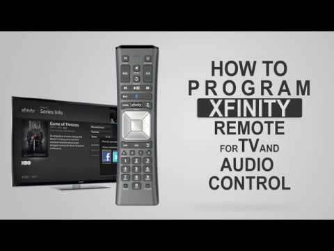 How to program XFINITY Remote for TV and Audio Control ...