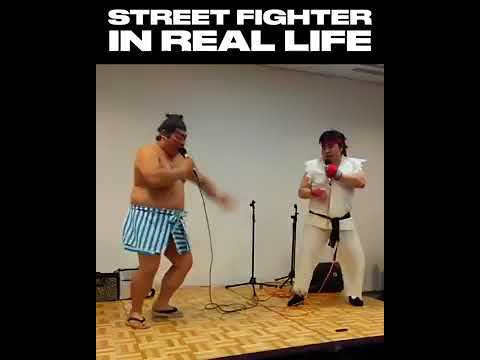 Street Fighter SFX Real Life Sound Battle - Funny Video Ryu Vs E Honda - Epicheroes Battle