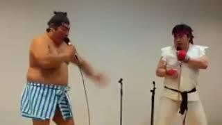 Street Fighter SFX Real Life Sound Battle - Funny Video Ryu vs E Honda - Epic Heroes Battle