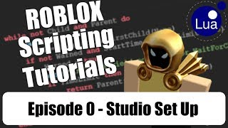 [ 000 ] ROBLOX Scripting Tutorials w/ Cytheur - Studio Set Up