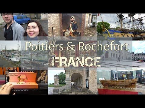 France Travel | Vlog 3 | Đi shopping và thăm 2 thành phố Poitiers & Rochefort | Petite Meow Beauty