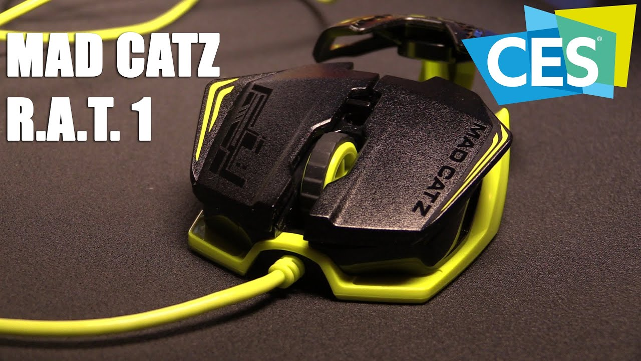 Mad Catz RAT TE Gaming Mouse Review  Legit Reviews