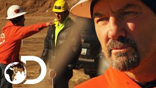Dave Loses His Temper With Disobedient Miner | Gold Rush: Dave Turin's Lost Mines