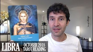 LIBRA October 2018 - Extended Monthly Intuitive Tarot Reading by Nicholas Ashbaugh