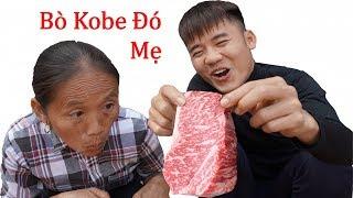 Hưng Vlog - Troll Mẹ Ăn Miếng Thịt Bò KOBE 10 Triệu Đắt Nhất Thế Giới | Prank Mom