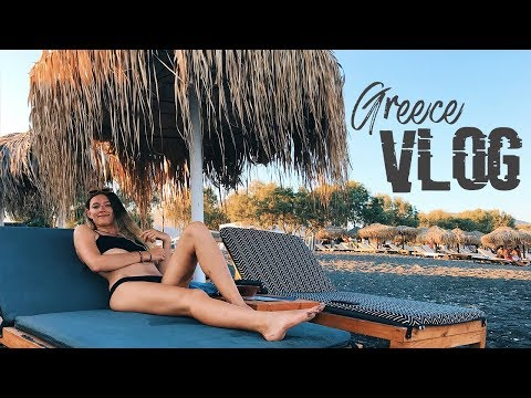 Travel Vlog: Greece (Athens, Santorini, Mykonos)