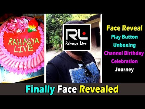 Rahasya Live Face Revealing Video, Channel Birthday Celebration , Play Button Unboxing, Journey