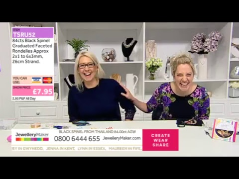 JewelleryMaker LIVE 15/01/18: 8AM - 1PM