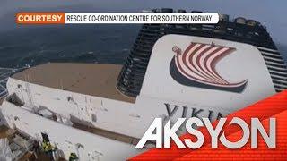 Tumirik na cruise ship sa Norway, may mga tauhang Pilipino