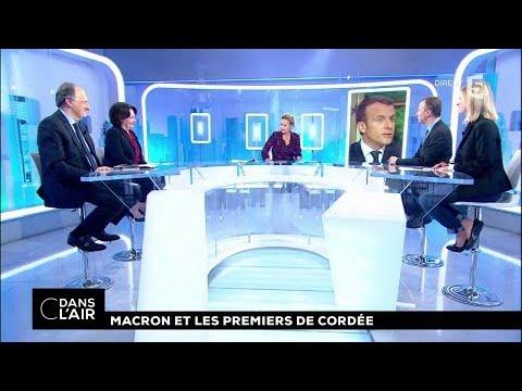 Macron et les premiers de cordée #cdanslair 16.10.2017