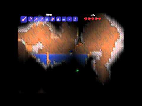 видео: Terraria Туториал №2 - Шахтерство