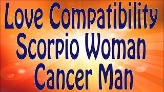 First scorpio love sight man woman Cancer