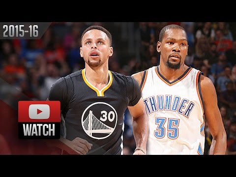 Stephen Curry vs Kevin Durant EPIC Duel...