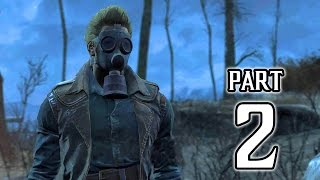 Fallout 4 Walkthrough PART 2 Gameplay (PS4) No Commentary @ 1080p HD ✔