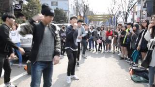 "Video Kpop Dancers on the Street / Hongdae, Seoul, music ""Good Boy"" by GD x Taeyang download MP3, 3GP, MP4, WEBM, AVI, FLV Mei 2017"