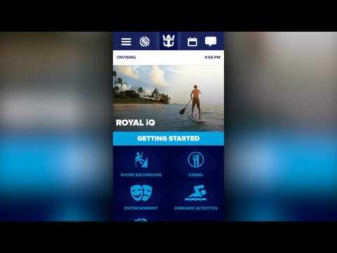 Anthem of the Seas: Royal iQ App