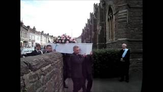 Becky Watts funeral in Bristol