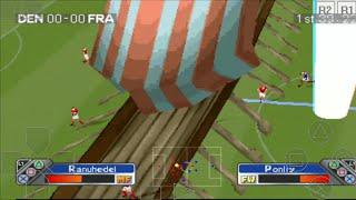 DENMARK vs FRANCE - Super Shot Soccer - ePSXe Android Gameplay