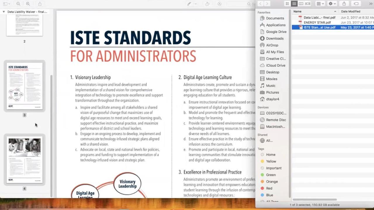 Merge PDF Using Preview on Mac